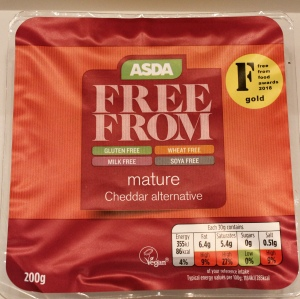 Asda free from cheddar